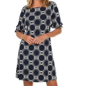 Ronni Nicole Circle Puff Print Dress